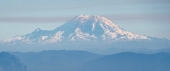 Mount Rainier from Mount Pilchuck Lookout.