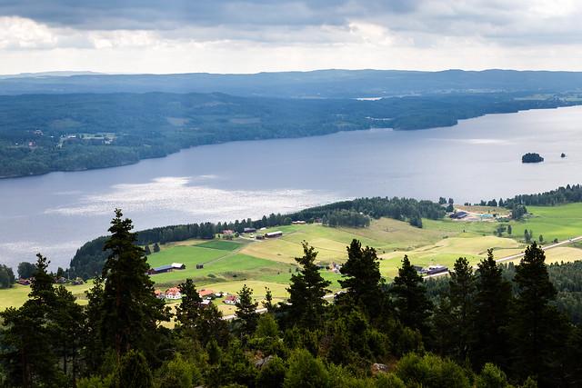 View 1 from Tossebergsklätten Mountain