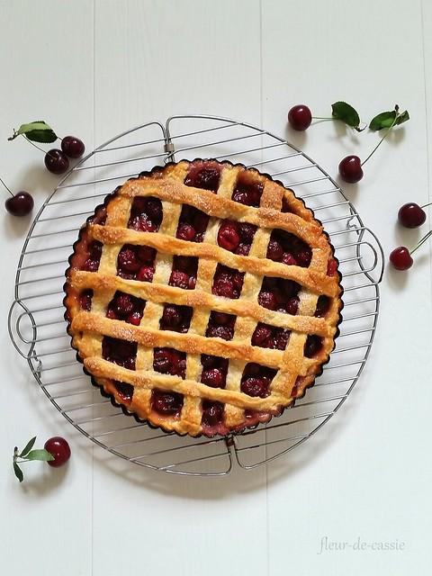 вишневый пирог 1