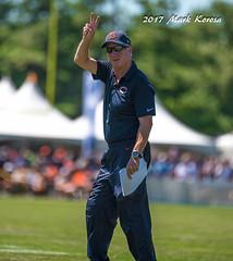 2107 Chicago Bears Head Coach John Fox