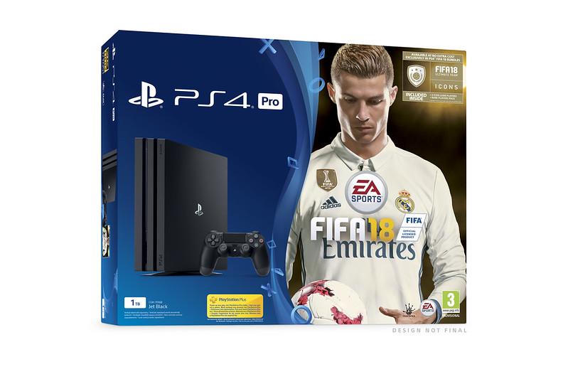 announcing the playstation 4 fifa 18 bundle range. Black Bedroom Furniture Sets. Home Design Ideas