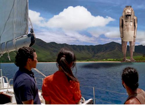 La grande statue de l'île de Lost . 36092454292_fa3df61df8_o