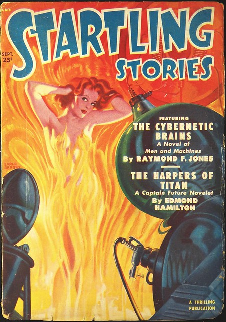 Startling Stories Vol. 22, No. 1 (September, 1950). Cover Art by Earle Bergey