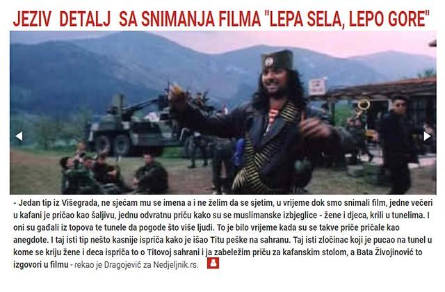 """JEZIV DETALJ SA SNIMANJA FILMA """"LEPA SELA, LEPO GORE"""""""