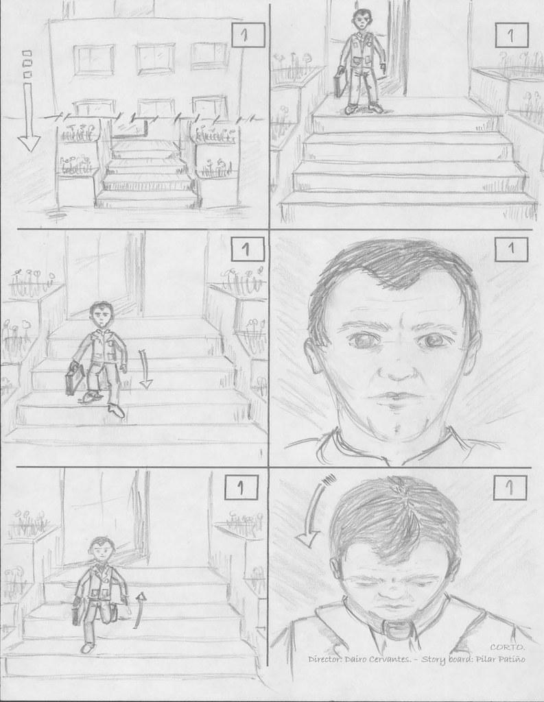Corto // Storyboard