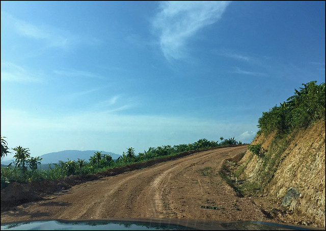 Road up to Kuan Ta Eiam