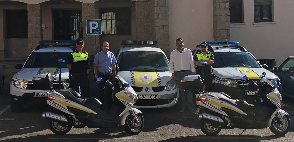 El Ayuntamiento de Coria renueva la flota de vehiculos de Policía Local