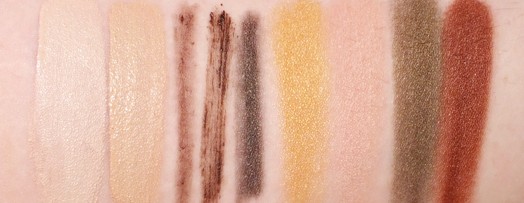 arbonne makeup swatches