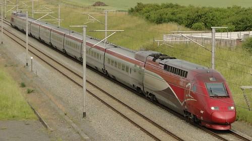 Belgian High Speed Lines - PBKA-trainset.