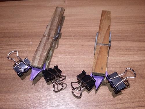 ECOGAMI - montagem mini Tsuru - Brinco com gancho