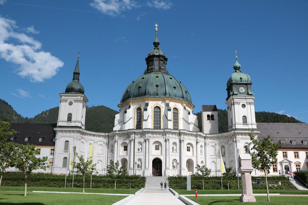 L'Abbazia e la Basilica barocca, Ettal