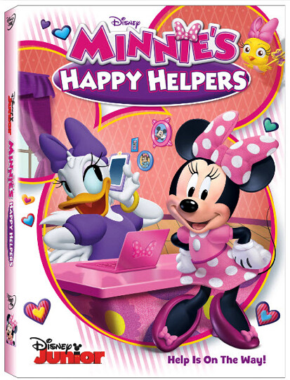 Minnies Happy Helpers Cover Art