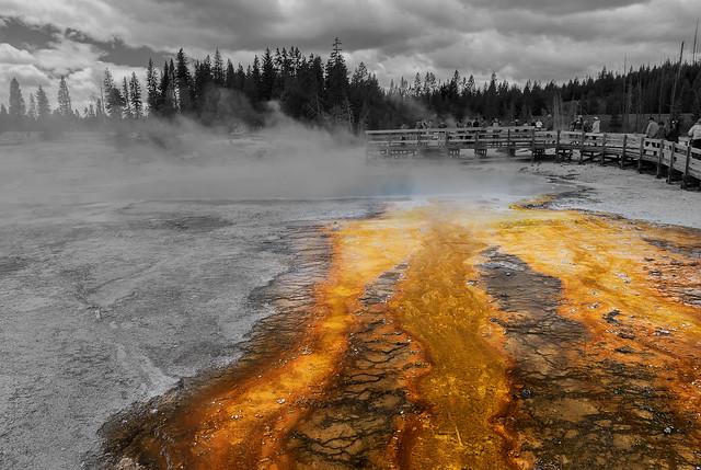 Black Pool - West Thumb Geyser Basin (Yellowstone National Park)