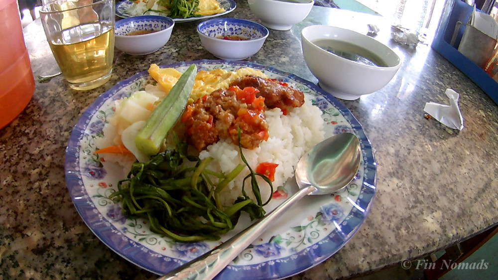 vietnamese rice meal
