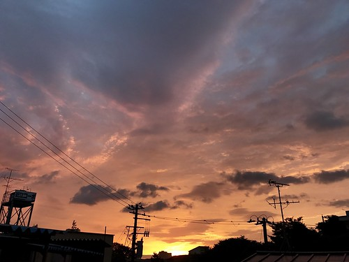 miyagi sendai nature 仙台市 sunrise 日の出 japan 宮城県 朝焼け