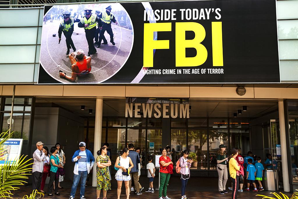 FBI FIGHTING CRIME IN THE AGE OF TERROR--Washington