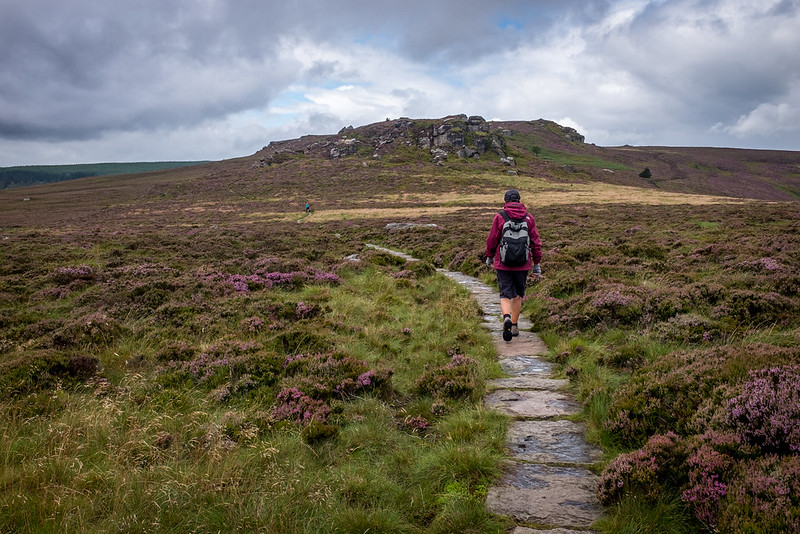 Heading along to Old Stell Crag