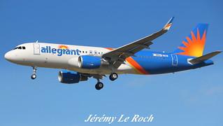 AIRBUS A320-214SL ALLEGIANT AIR F-WWBV MSN7781 (N248NV) A L'AEROPORT TOULOUSE-BLAGNAC LE 11 07 17.