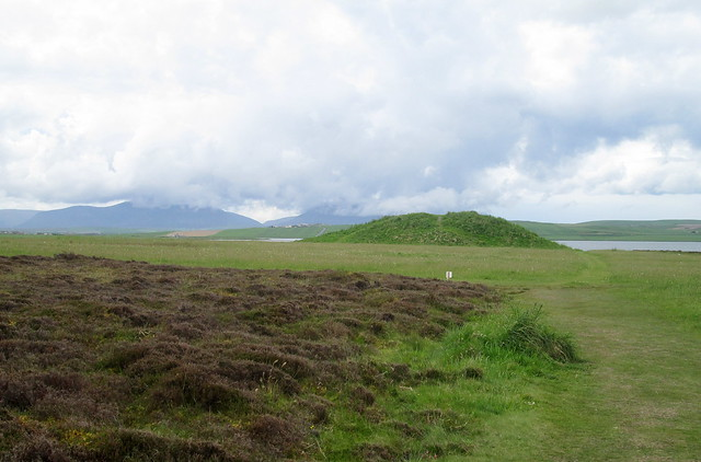 Salt Knowe from Ring of Brodgar