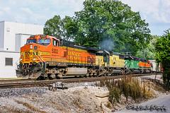 BNSF 5302 | GE C44-9W | BNSF Thayer South Subdivision