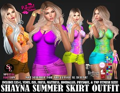SHAYNA SUMMER SKIRT OUTFIT PIC