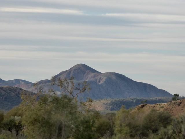 Namatjira Drive scenery, Panasonic DMC-FZ70
