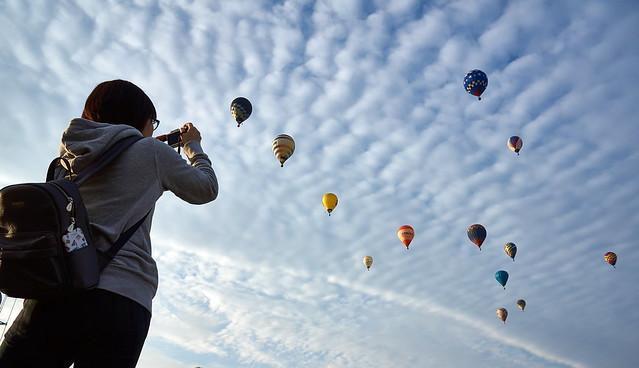 Balloon 佐賀 熱気球 バルーンフェスタ10 30 2016