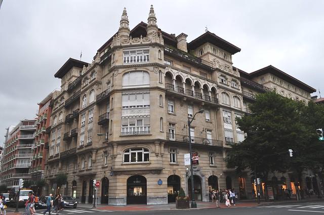 Casas Sota, 1919, Gran Via, El Ensanche, Bilbao, Biscaye, Pays Basque, Espagne.