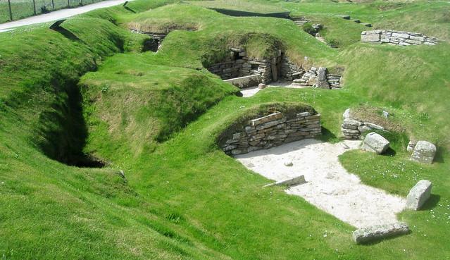 Excavated Houses, Skara Brae, Orkney