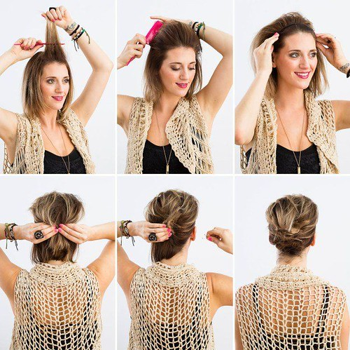 Hairstyles For Short Hair : How to Wear Headband with Short Hair | Beauty Hacks by Makeup Tutorials at makeu... - #Short
