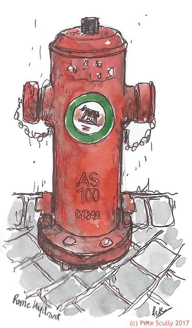 Hydrant in Rome