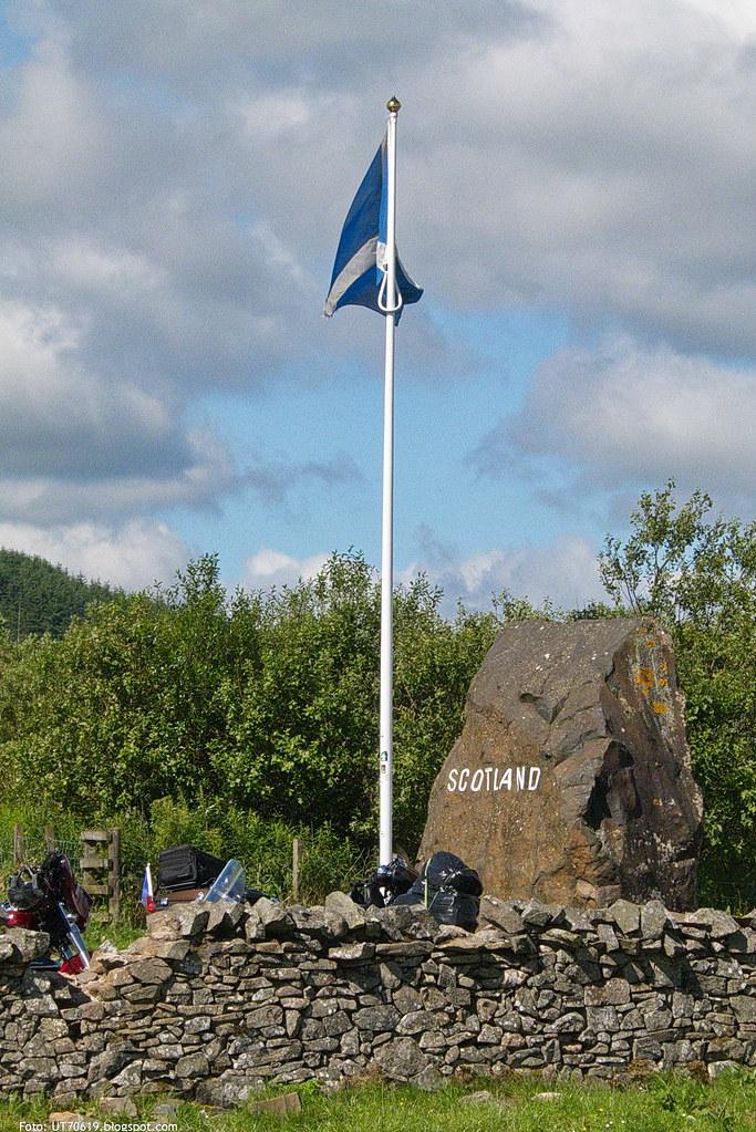 Schottische Fahne