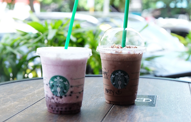 Patty Villegas - The Lifestyle Wanderer - Starbucks Philippines - July 2017 - Granola Dark Mocha Frappuccino - Açai Mixed Berry Yogurt Frappuccino