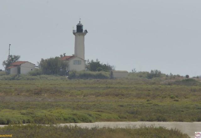 le phare de la Gacholle à 2 km