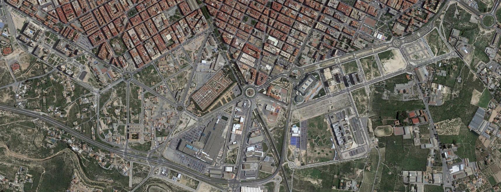 elche, alicante, leche, después, urbanismo, planeamiento, urbano, desastre, urbanístico, construcción, rotondas, carretera