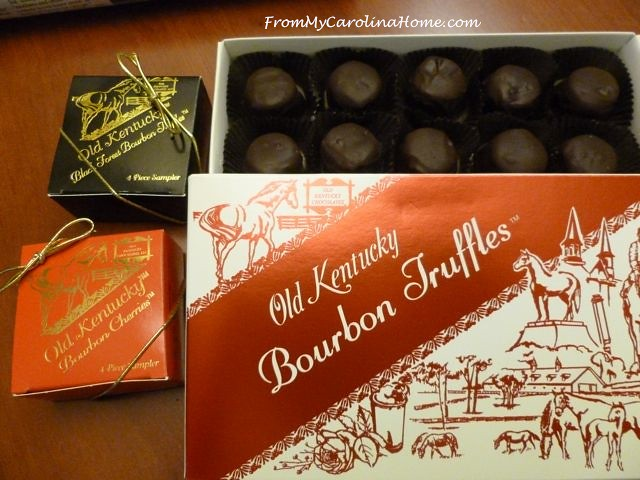 Chocolates bourbons