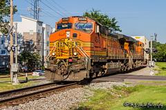 BNSF 4546 | GE C44-9W | NS Memphis District