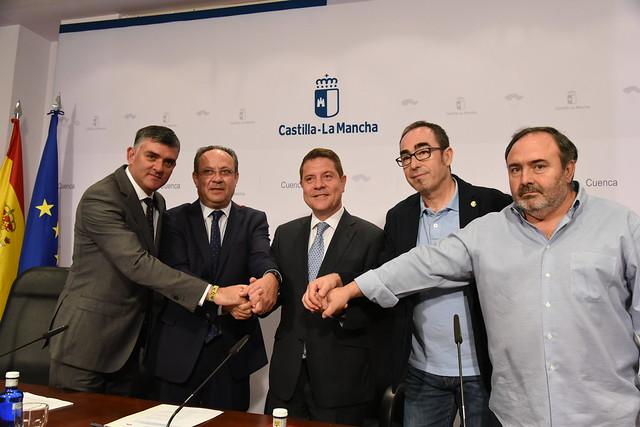 Firma del III Acuerdo por la Estabilidad en el Empleo de CLM