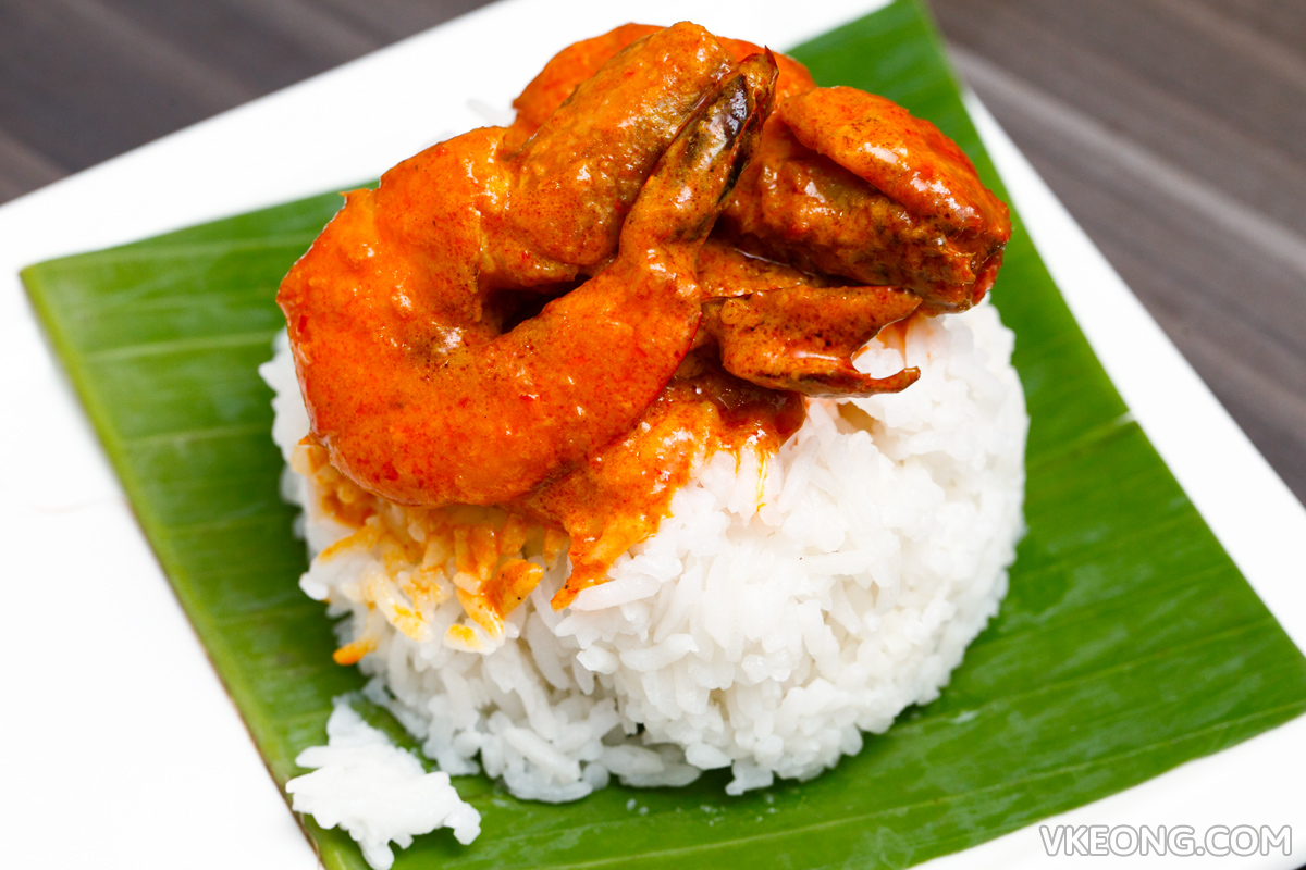 The Establishment Prawn Curry with Rice