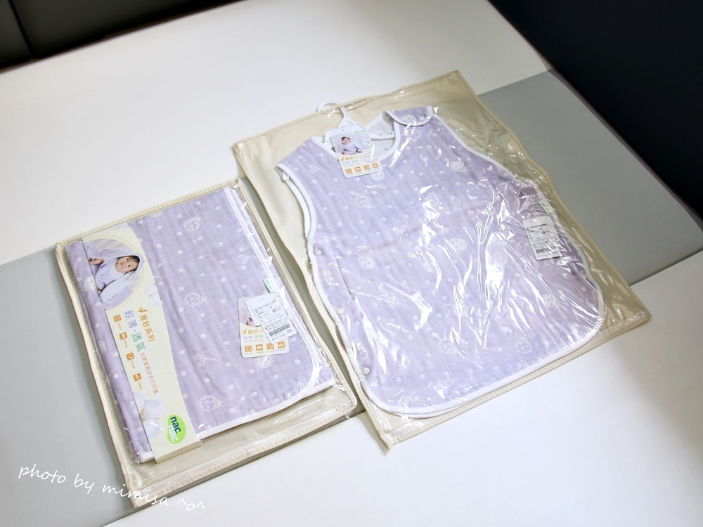 nac nac 四層紗 防踢被 薄被 (4)