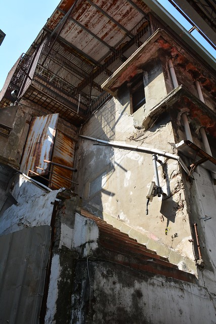 天外天劇場:戶外樓梯