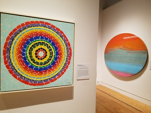 Alma Thomas' Spring—Delightful Flower Bed and Edward Clark's The Big Egg