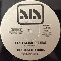 ED (TOO-TALL) JONES:LET'S MAKE TONIGHT OUR NIGHT(LABEL SIDE-B)