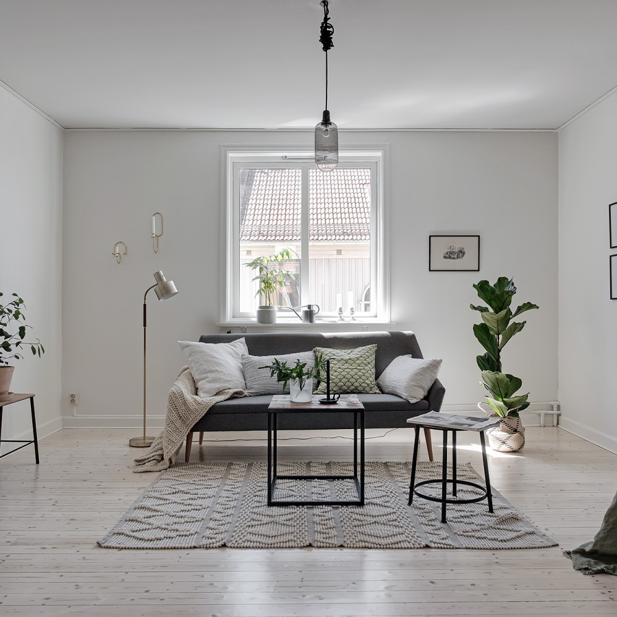 Fresh and Simple Scandinavian Home Filled with Natural Light