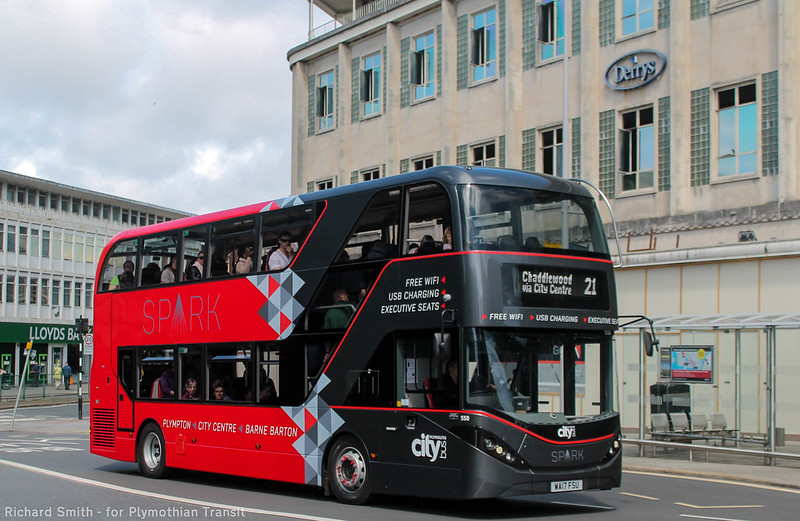 Plymouth Citybus 550 WA17FSU