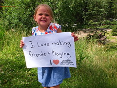 Making friends & playing