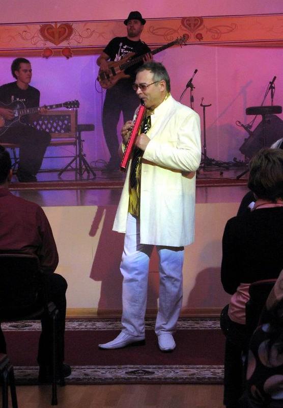 """12.11.2002 Концерт в церкви """"Свет Жизни"""" Полтава"""