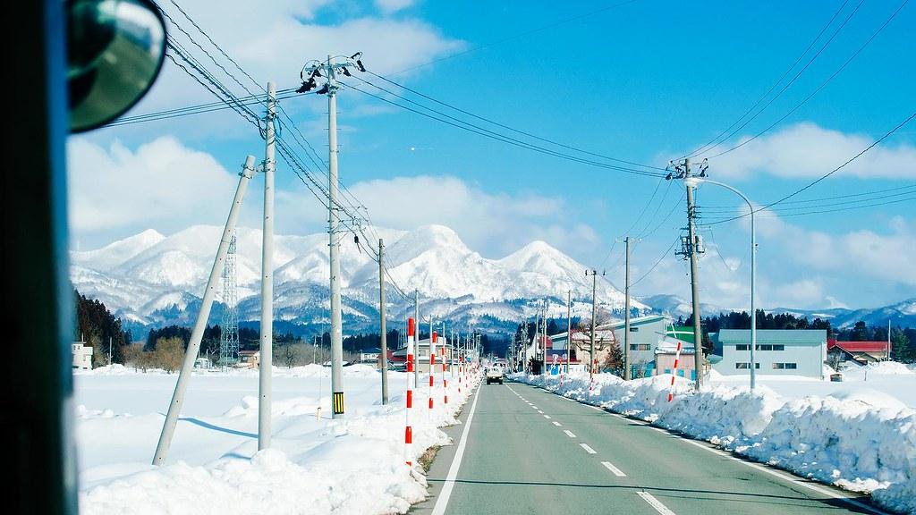銀山溫泉公車