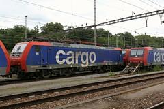 SBB Cargo Re 474 017-1 Muttenz Rbf