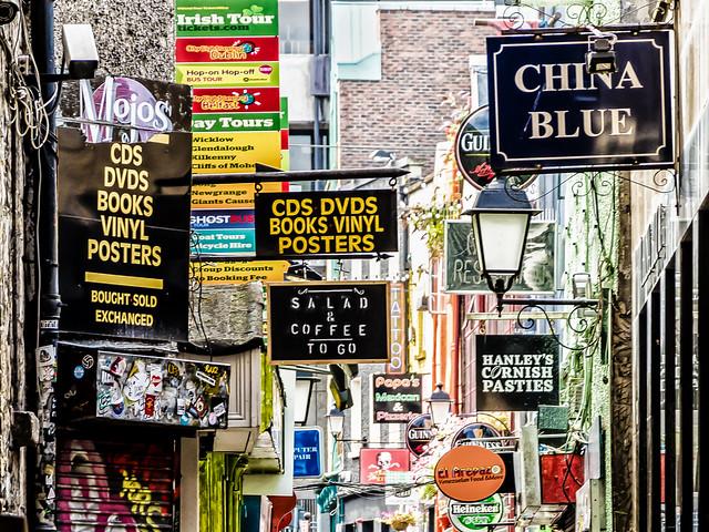 Dublin; Temple Bar